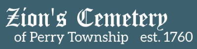 Zion's Cemetery of Perry Township Logo